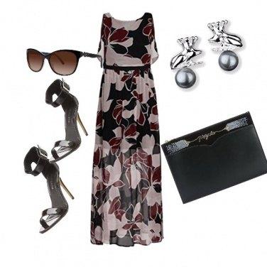 Outfit Eleganza a fiori