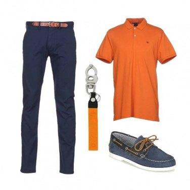 Outfit Polo arancione