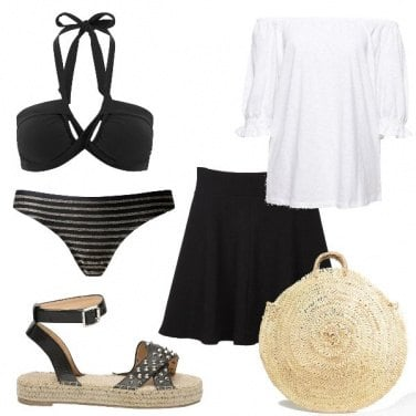 Outfit Rock to the beach