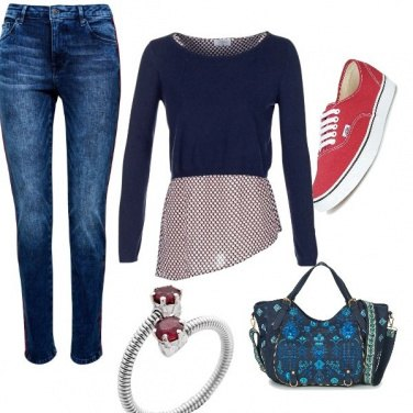 Outfit Teen-red