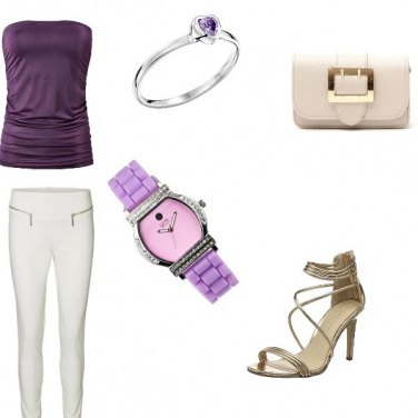 Outfit Viola stail