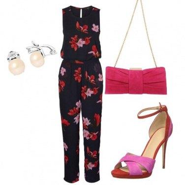 Outfit Jumpsuit fiorita