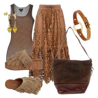 Outfit Choker etnico