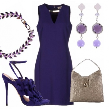 Outfit Elegantissima in viola