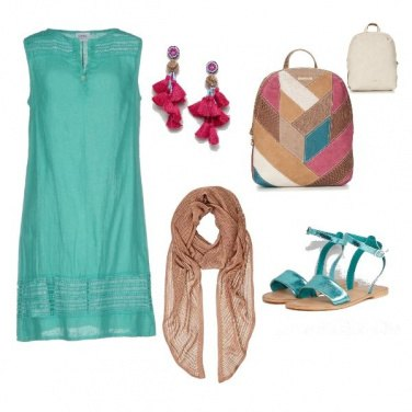 Outfit CMPS Turquoise tribes