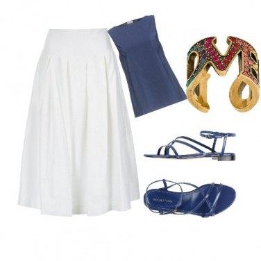 Outfit A passeggio in centro