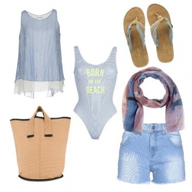 Outfit CMPS Born on the beach
