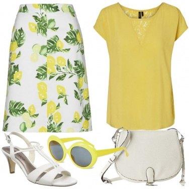Outfit La gonna con i limoni