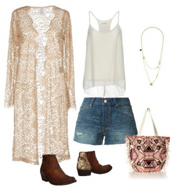 Outfit Boho chic every day