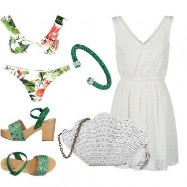 Outfit Una conchiglia per borsa