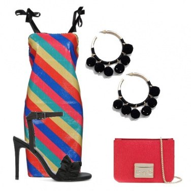 Outfit Look arcobaleno