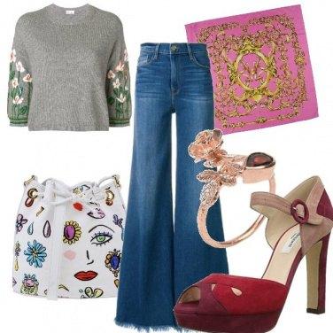 Outfit Fille de fleur
