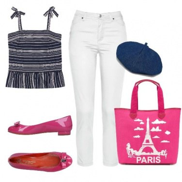 Outfit J\'arrive, Paris!