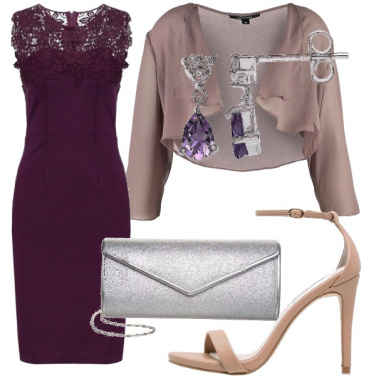 Outfit Settembre in viola