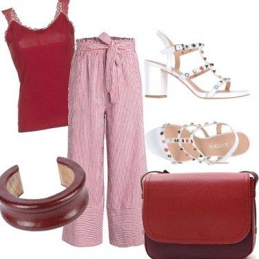 Outfit Il pantalone ampio e fresco