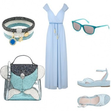 Outfit Turchese mania