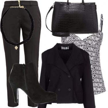Outfit Nero & white