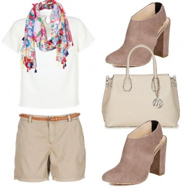 Outfit Fashion in shorts