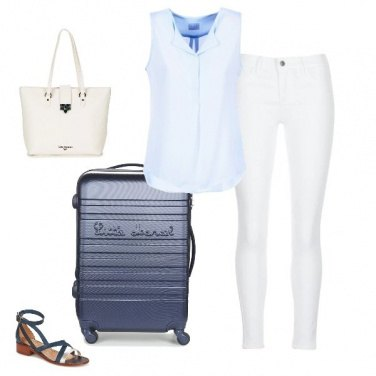Outfit Comodamente in viaggio