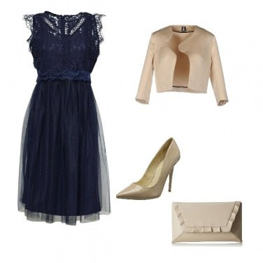 Outfit Testimone in blu