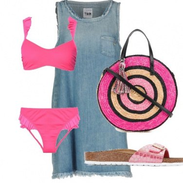 Outfit Mare in rosa