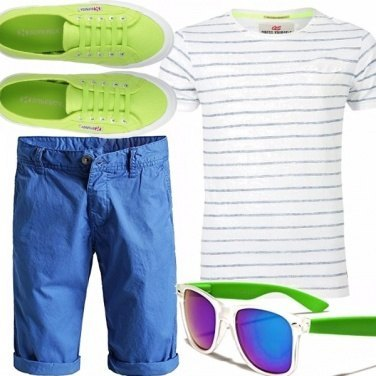 Outfit Acid green
