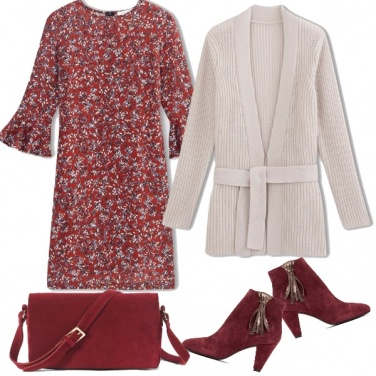 Outfit Burgundy