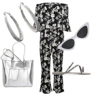 Outfit Jumpsuit e argento