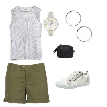 Outfit Sport Chic