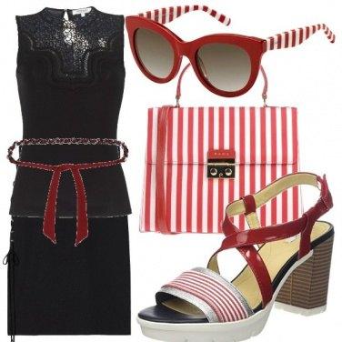 Outfit Colore agli accessori