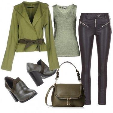 Outfit 4-sexy y elegante en pantalones