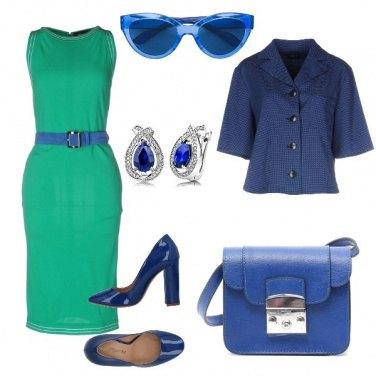 Outfit Il tubino verde