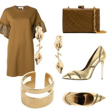 Outfit Bronze & gold
