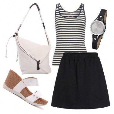 Outfit 8-bianco e nero