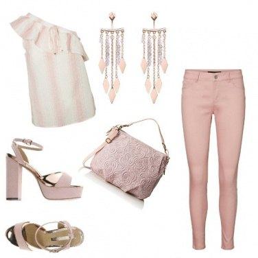 Outfit Plateau Rosa