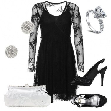 Outfit L\'abito in pizzo