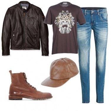 Outfit Biker Rock #248