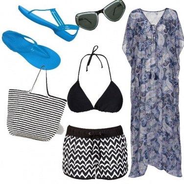 Outfit Etnico, una giornata al mare