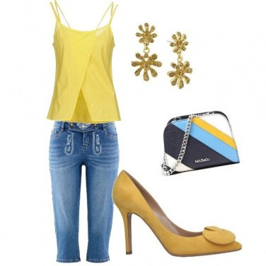 Outfit Elegante in jeans