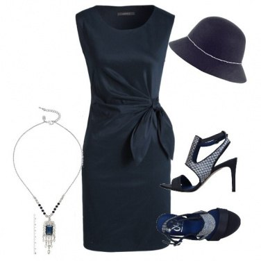 Outfit Blue Paris
