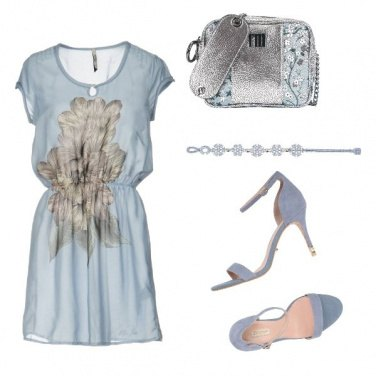 Outfit Bon Ton Turchese