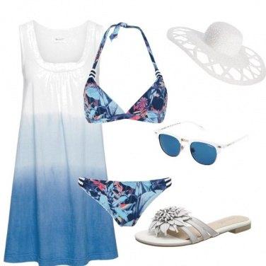 Outfit Sfumature di mare