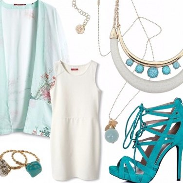 Outfit Turquoise