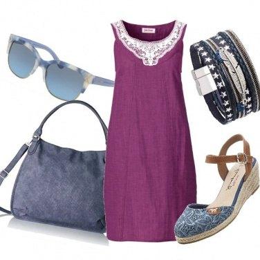 Outfit Accessori in blu