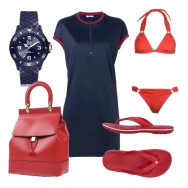 Outfit CMPS Studio al mare