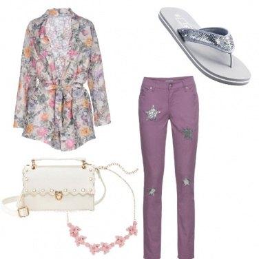 Outfit Rosa pastello e non solo