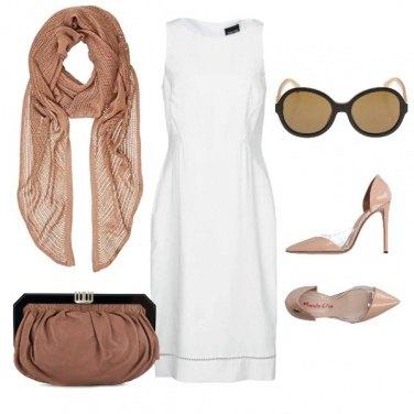 Outfit Il tubino diventa bianco