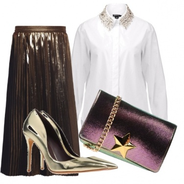 Outfit Effetto metal