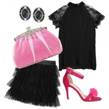 Outfit La borsa di cenerentola