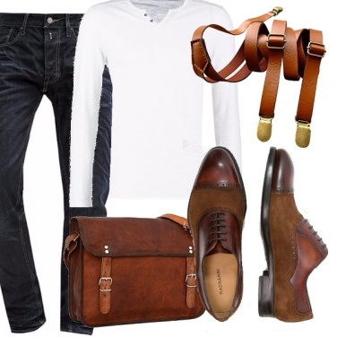 Outfit Hipster in italy